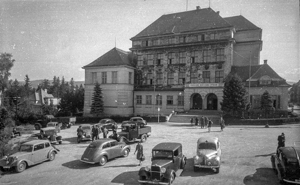 Budova A, 50. léta