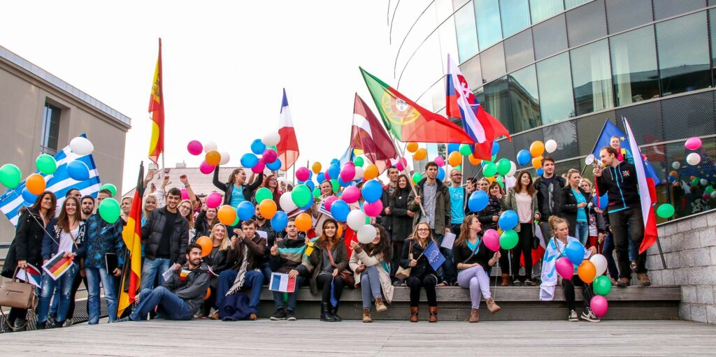 Zahraniční studenti programu Erasmus+