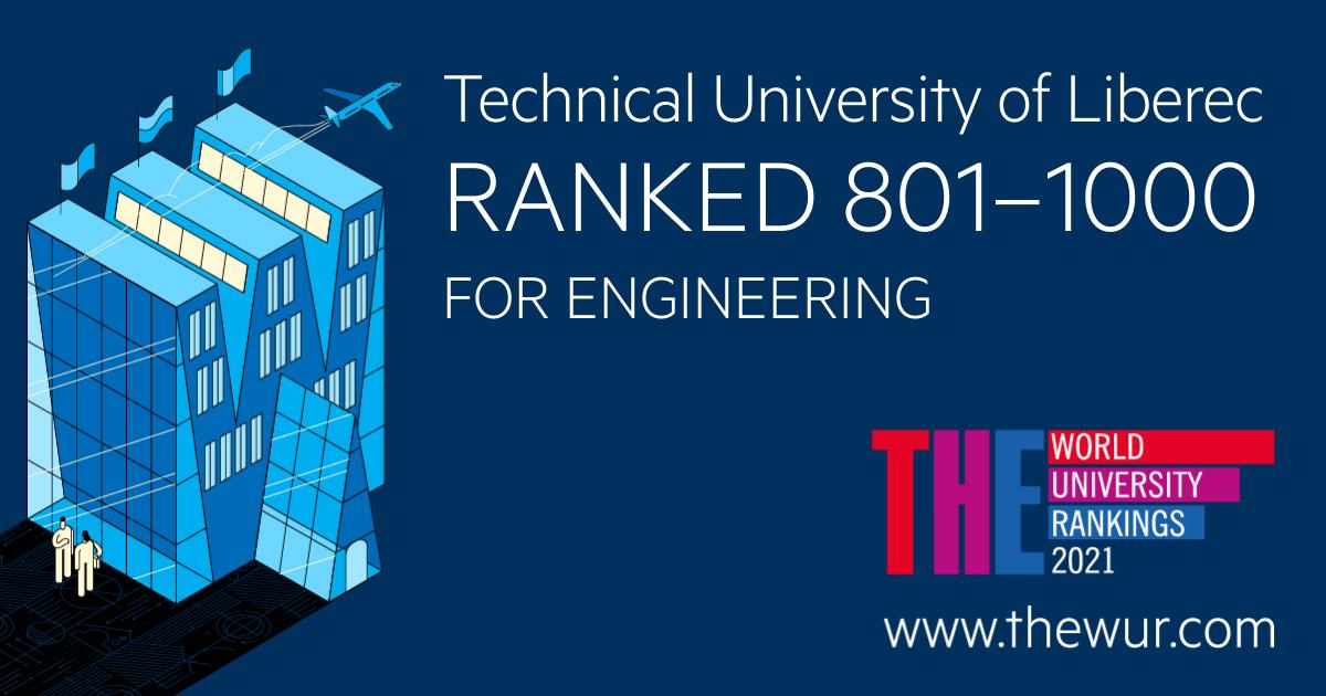 Ranking THE 2021 Engineering: 801+